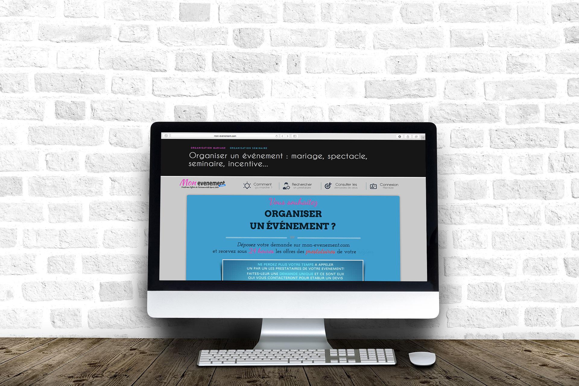 0c4c90b62ee Création site internet pour une entreprise d evenementiel